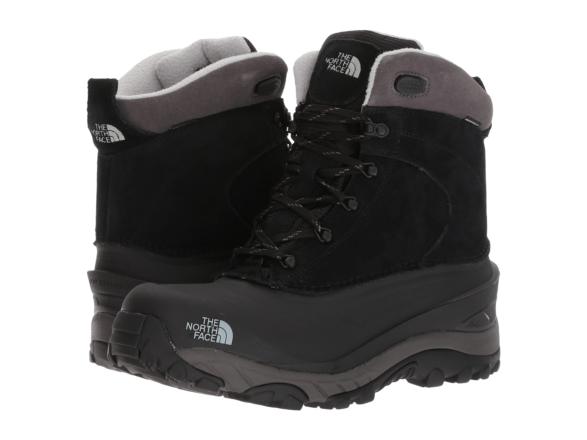 9fd63d0a5 Details about THE NORTH FACE Chilkat III Men   TNF Black / Dark Gull Grey  (NF0A39V6)