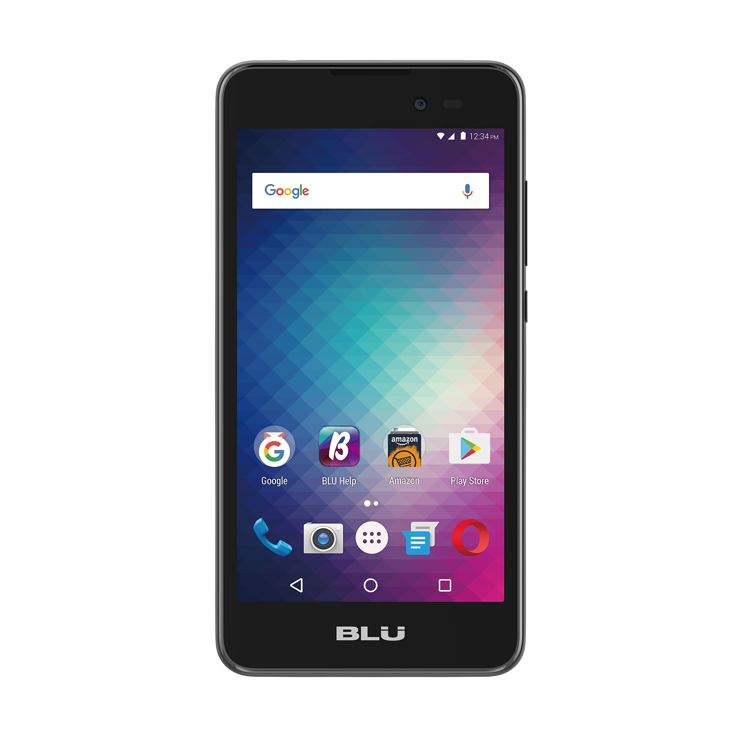 blu dash g 5 handy 5mp 4gb gsm entsperrt dual sim android d490l schwarz ebay. Black Bedroom Furniture Sets. Home Design Ideas