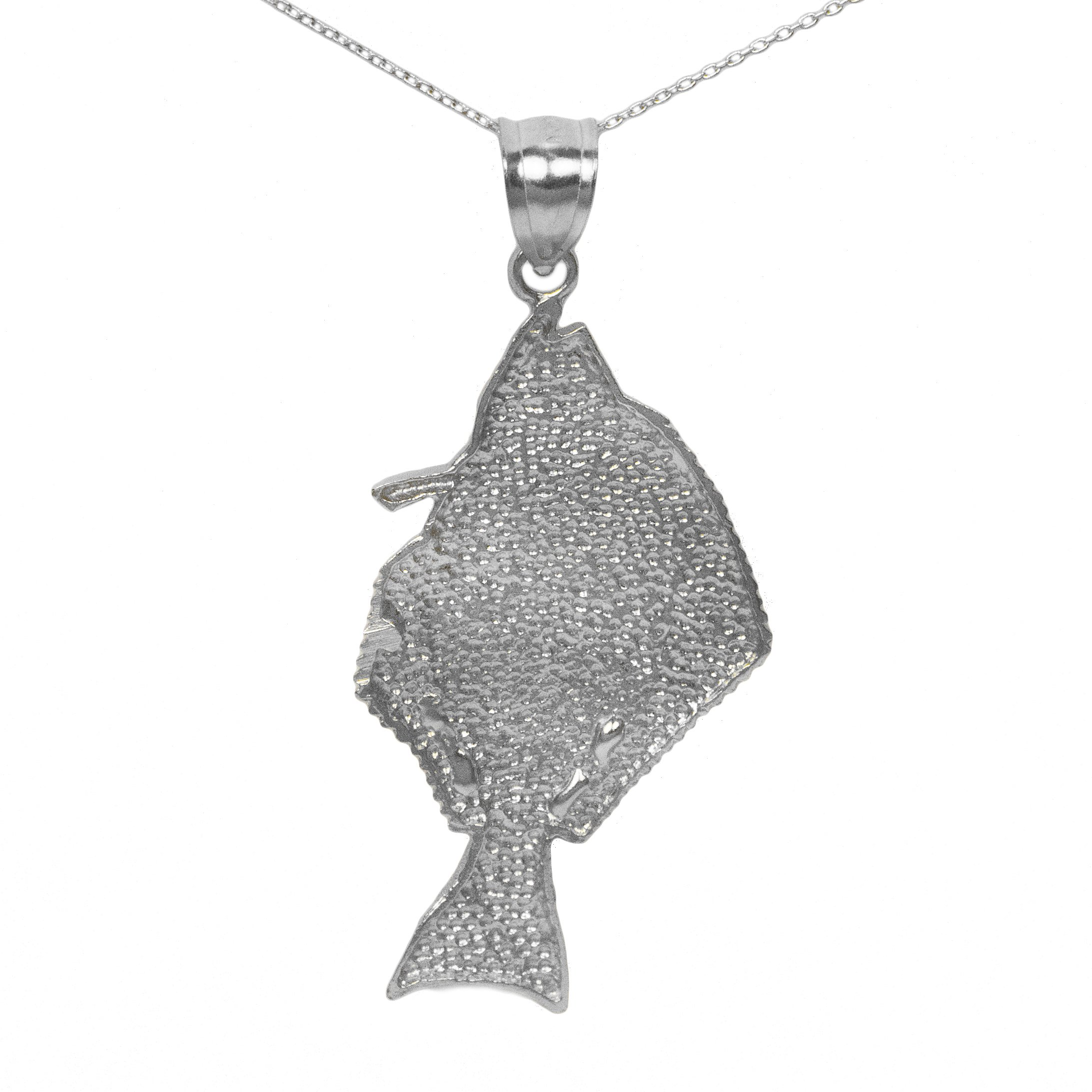 925 sterling silver fish pendant ebay 925 sterling silver fish pendant aloadofball Image collections