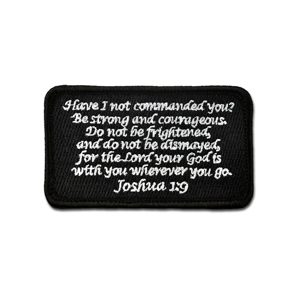 Corinthians 16:13 Tactical Combat Morale Embroidered Patch Badge Hook and Loop