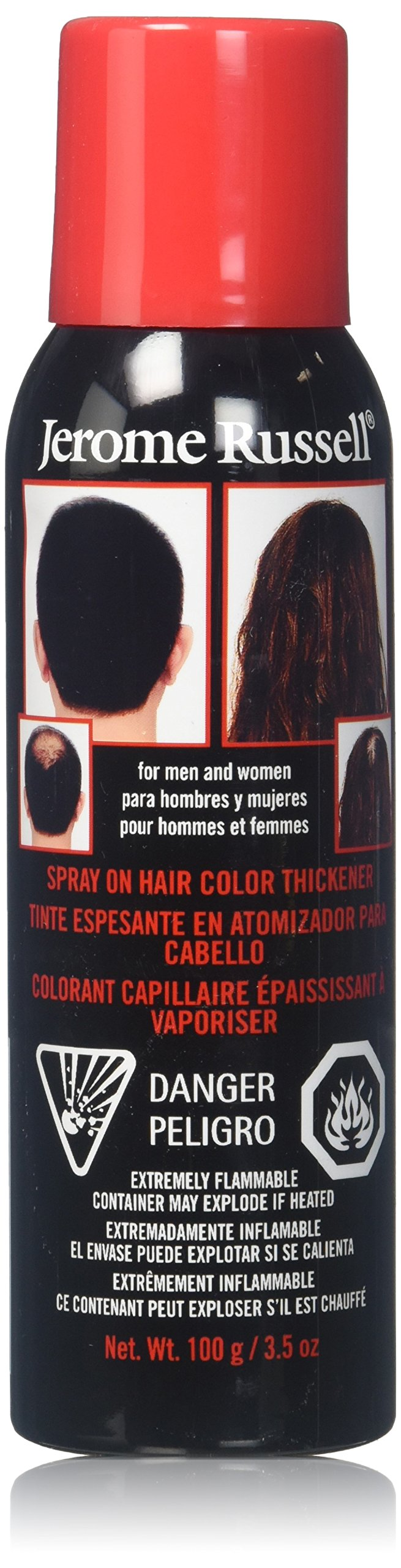 Details about jerome russell Hair Color Thickener for Thinning Hair,  Brown/Blonde, 3.5 Ounce