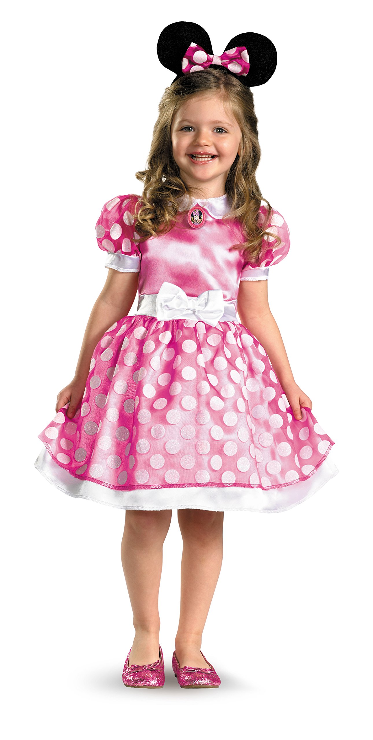 ea622832e Cutest little mouse in town - Your little one will be in this darling  Licensed Disney Clubhouse Minnie Dress and Headband. Every girls favorite  mouse, ...