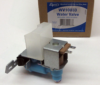 Wr57x10033 For Ge Icemaker Water Valve Solenoid Coil Inlet