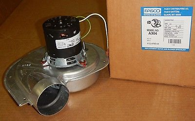 A304 Fasco Draft Inducer Motor For 7021 9700 7021 9701